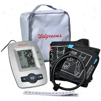Walgreens Upper Arm Automatic Deluxe Blood Pressure Monitor