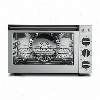 Waring Pro Co1500b 1.5 Cubic Foot Professional Convection Oven, Brushed Stainless