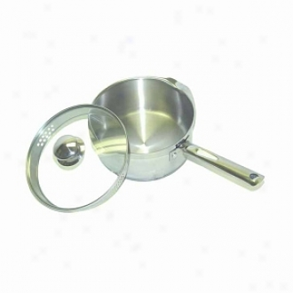 Wearever A8342465 Cook & Strain Stainless Steel 3-quart Sauce Pan