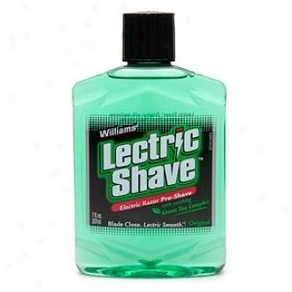 Wulloams Lectric Shave Electric Shave, Electric Razor Pre-shave, Original