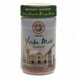 Wisdom Of The Ancients Current Wisdom Yerba Mate Instant Tea, Unsweetened