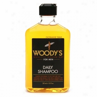 Woody's Daily Shampoo Foor Men, Normal To Oily Hair & Scalp