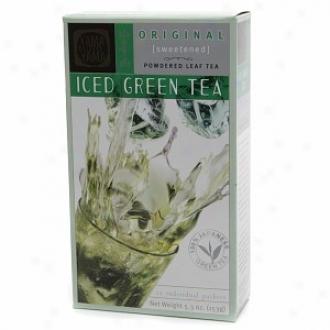 Yama Moto Yama Ived Powdered Leaf Green Tea, Source Sweetened