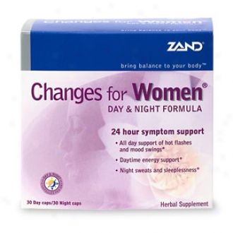 Zand Changes For Women, Day & Night Formula, Caplets
