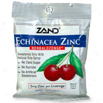 Zand Herbalozenge Supply, Cherry/echinacea Zinc