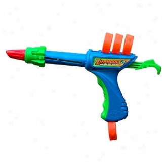 Zing Air Zyphoon Blaster  With Z-spin Technology, Age 6+