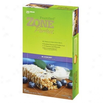 Zoneperfect All-natural Nutrition Bars, Blueberry Pomegranate