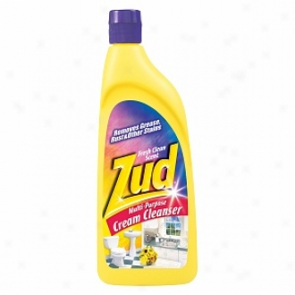 Zud Multi-purpose Cream Cleanser, Fresh Pure Scent