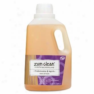 Zum Clean Aromaatherapy Launcry Soap, Frankincense & Myrrh